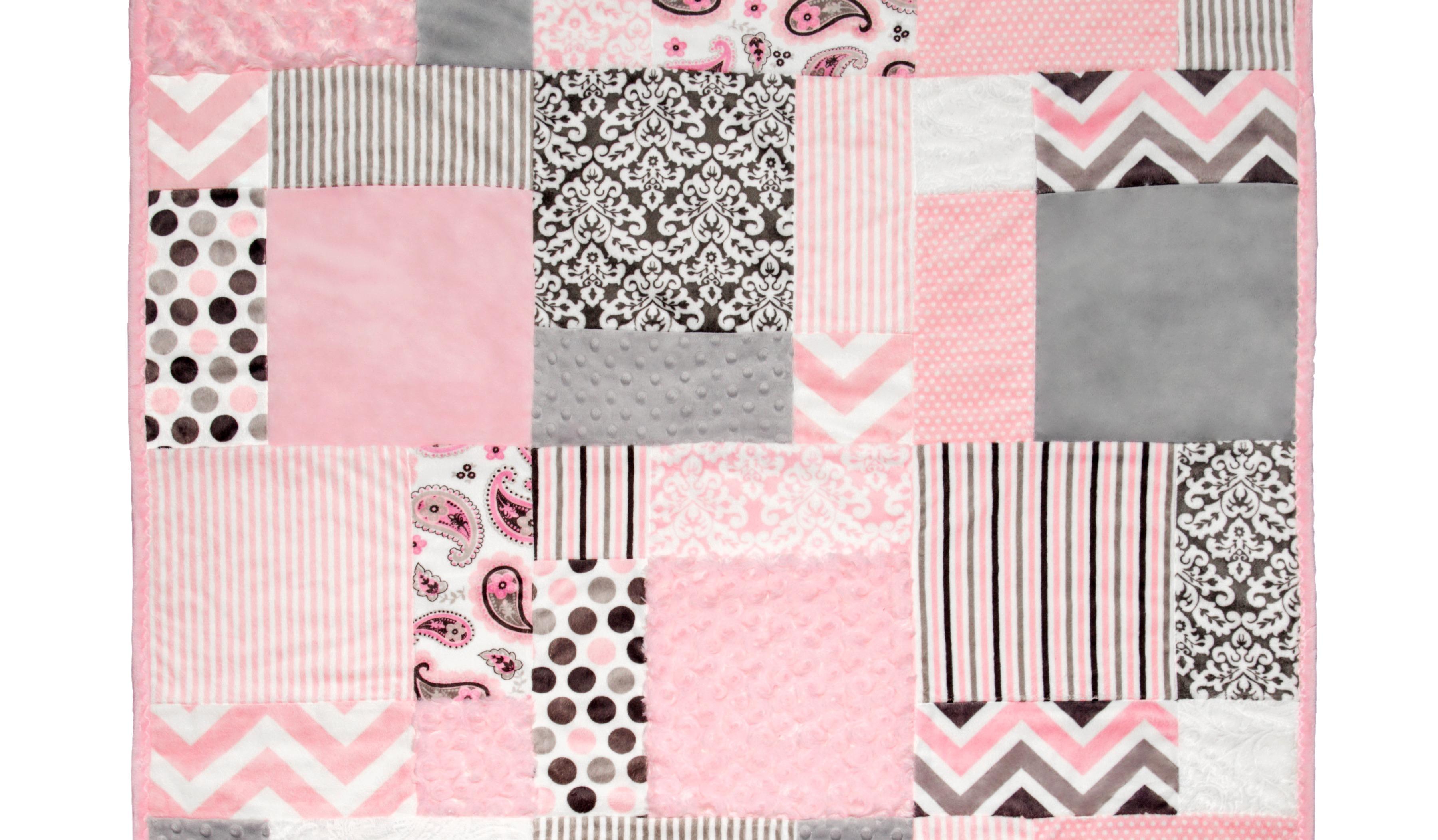 Block 1 of Sugar /& Spice Paper Dolls Quilt Sleepy Times PJs Pattern
