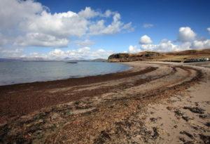 Ganavan Beach, Strathclyde dog friendly beach Scotland