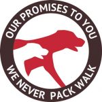 We Love Pets will never pack walk