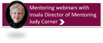 mentoring webinars with insala judy corner