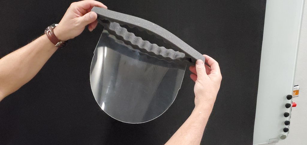 How Mueller is Creating Face Shields to Increase Protection