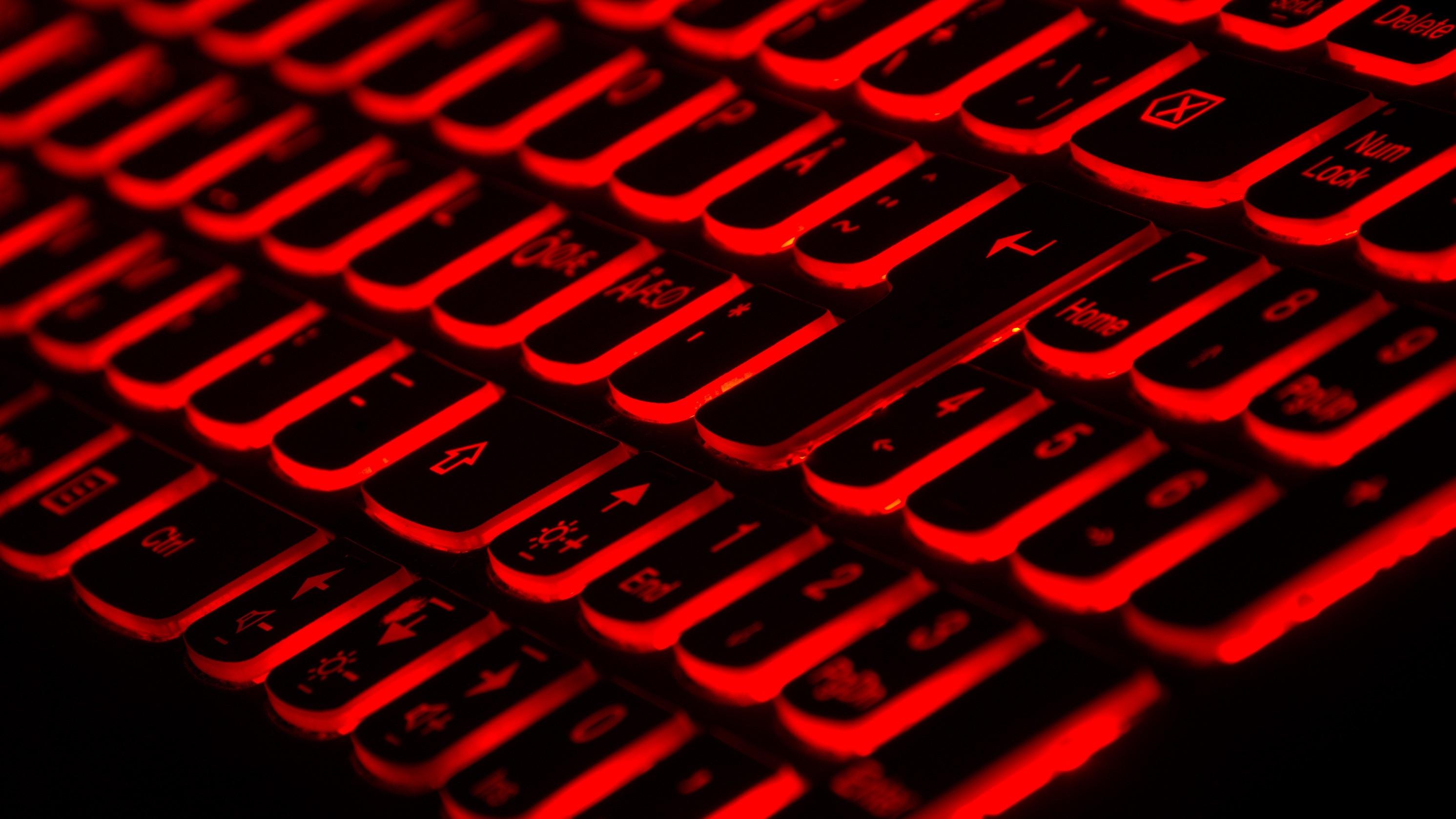 Red keyboard, Photo by Taskin Ashiq on Unsplash