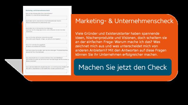 Marketing- und Unternehmenscheck