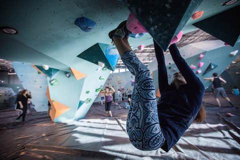 Marisa Romero Climbing