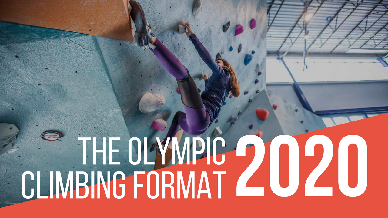 The Olympic Climbing Format