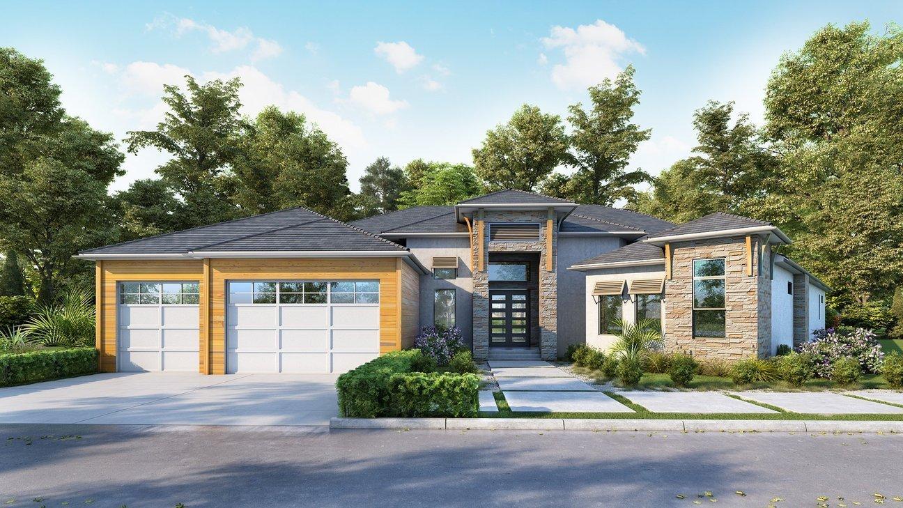 Modern House 3D Render - 3D Rendering Services - portfolio-5