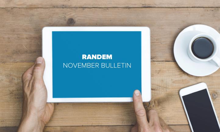 Randem November Bulletin Banner