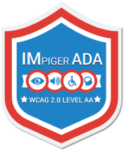 Impiger ADA certified Badge