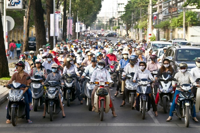 How to Get Around Ho Chi Minh City, Vietnam