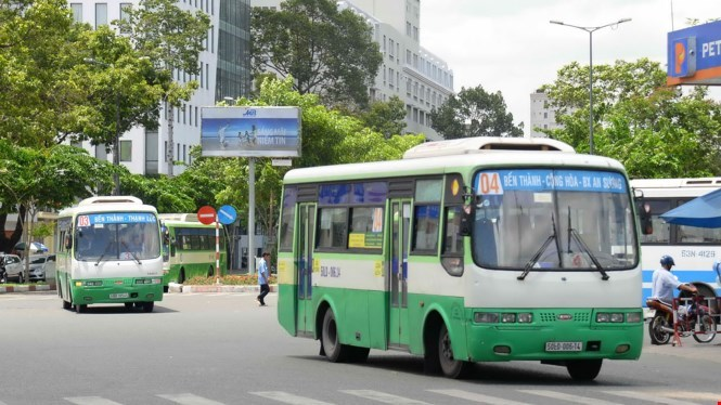Ho Chi Minh City, Vietnam - Public Bus