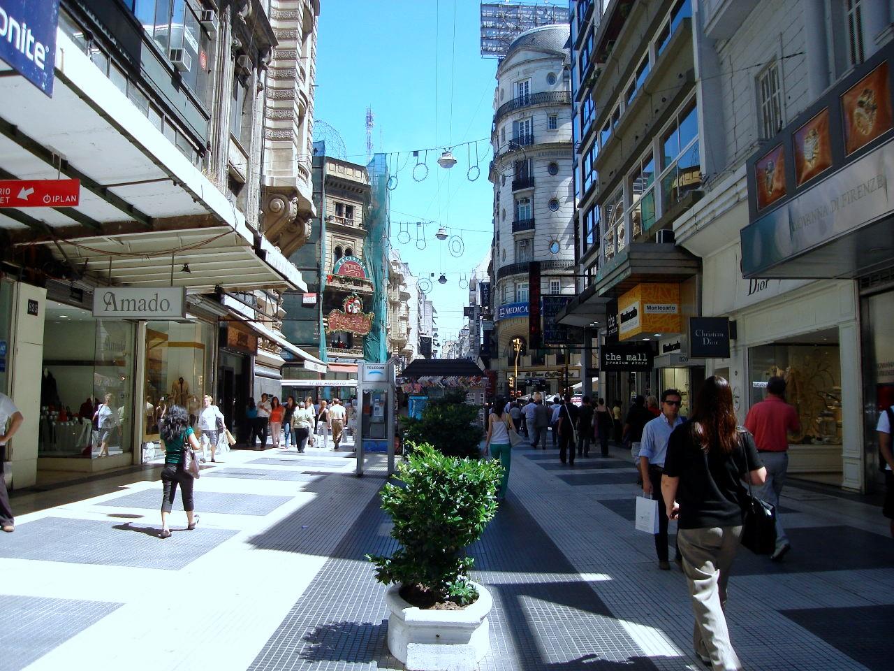 Argentina-florida-street-blue-market