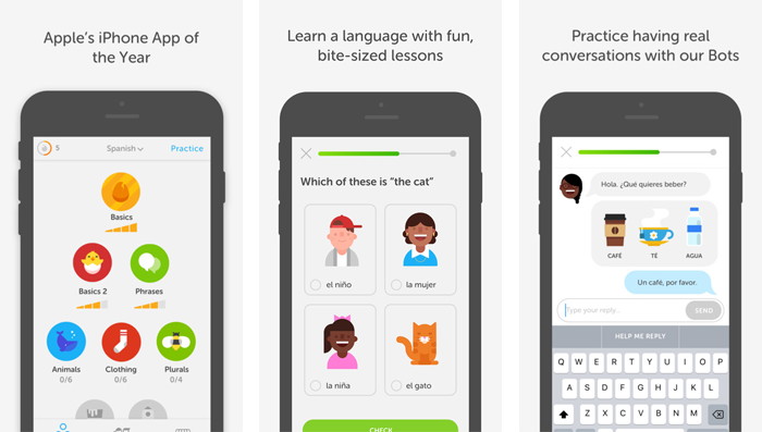 Best Apps To Use While Teaching English in Italy - Duolingo