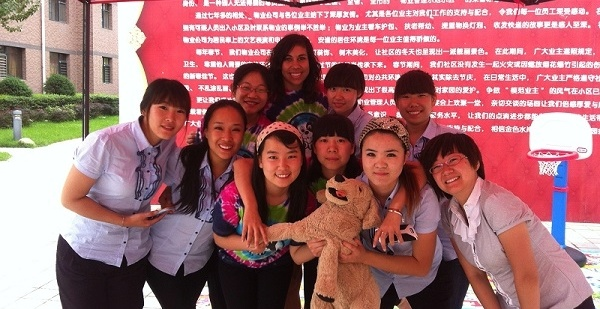 Why is China the best job market in the world for teaching English abroad?