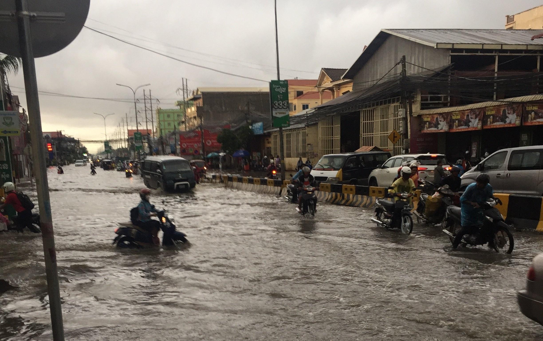 Cambodia Street Flooding