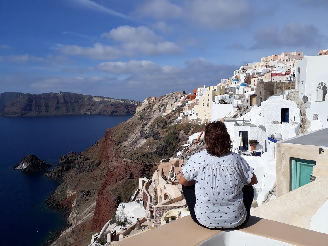 Spring Break Travels to Greece While Teaching English in the UAE