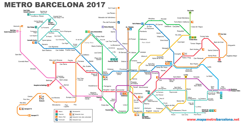 Gwt around Barcelona using the metro!