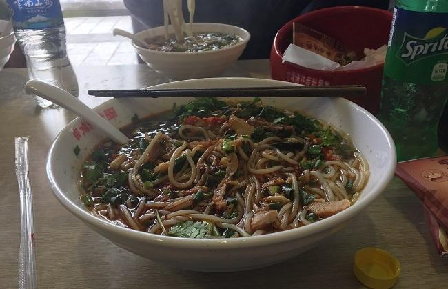 Eat yummy food while teaching English in Kunming, China