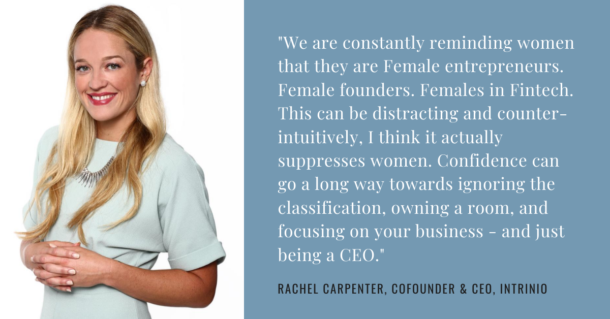 Rachel Carpenter, CEO of Intrinio