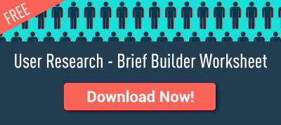 User Research Brief Builder Worksheet
