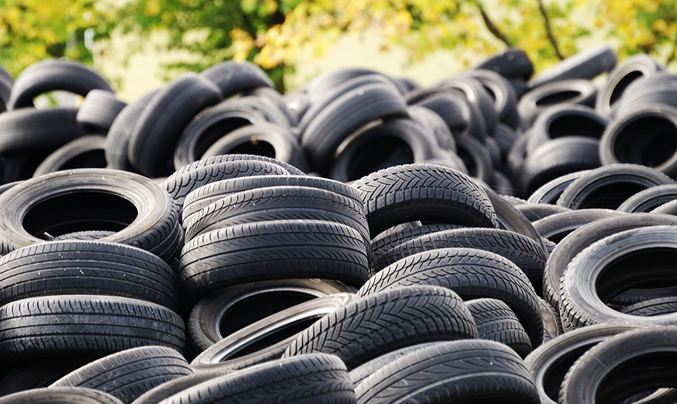 Ever Wondered What Happens to your Old Car Tires?