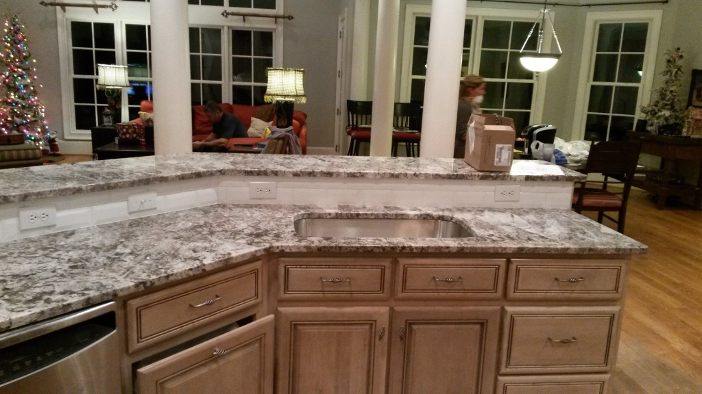 Granite Ice White Bevel Tiles Bianco Antico Countertop With Backsplash  Cabinets Price Uk