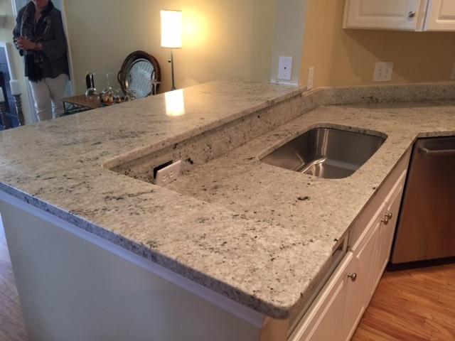 Colonial White Granite Countertops | Charlotte NC