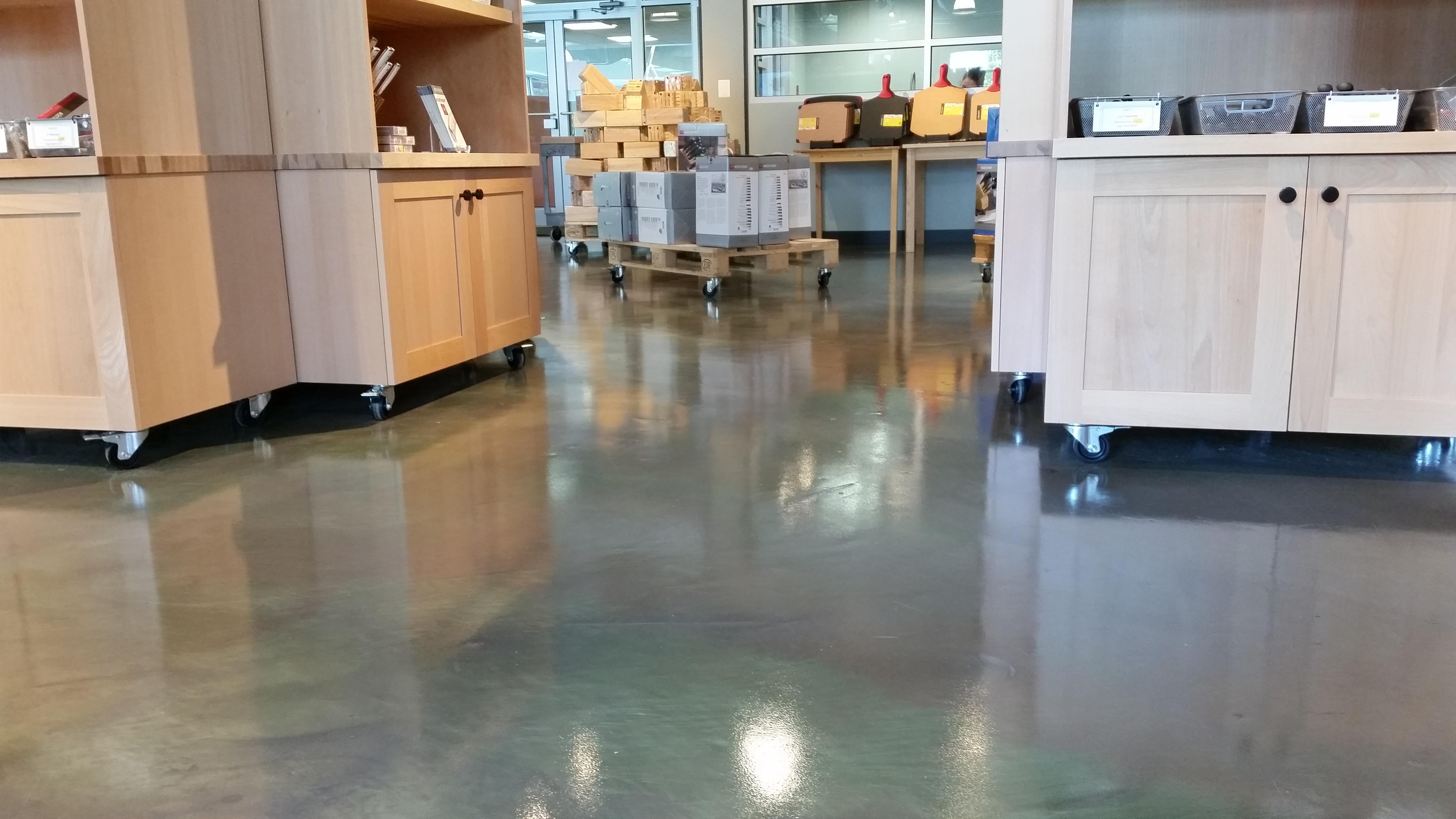 Can Metallic Epoxy Flooring Be
