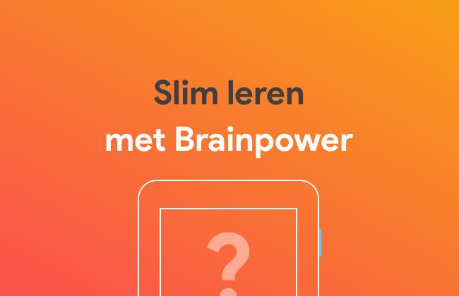 Slim leren met Brainpower