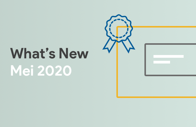 What's New: Mei 2020