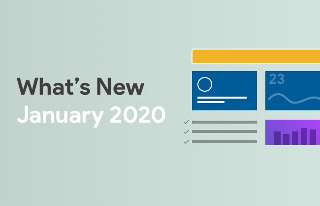 What's New: January 2020