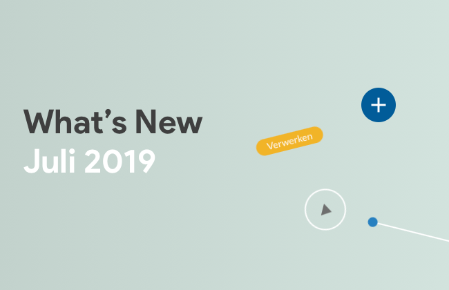 What's New: Juli 2019