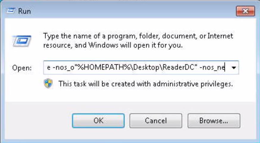 adobe reader dc silent install
