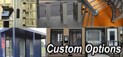 custom options, MSSI, MAC Portal custom options, turnstile custom options, guard house custom options, guard booth custom options, VAC Portal custom options