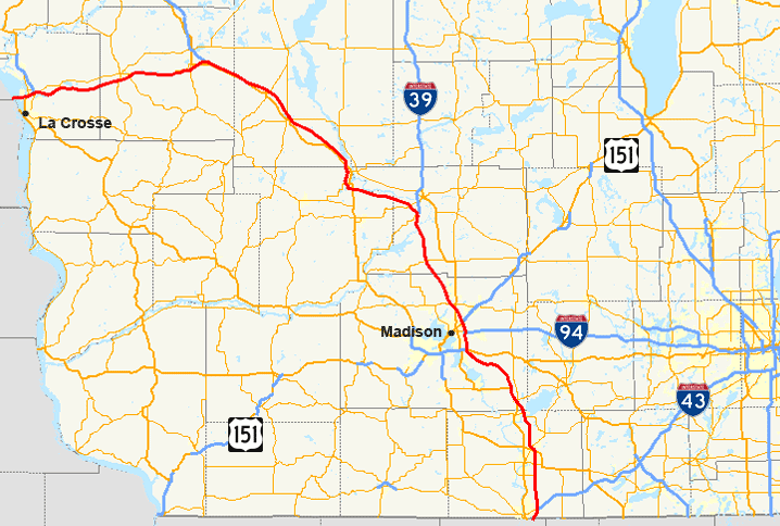 I-90 Wisconsin major traffic accidents