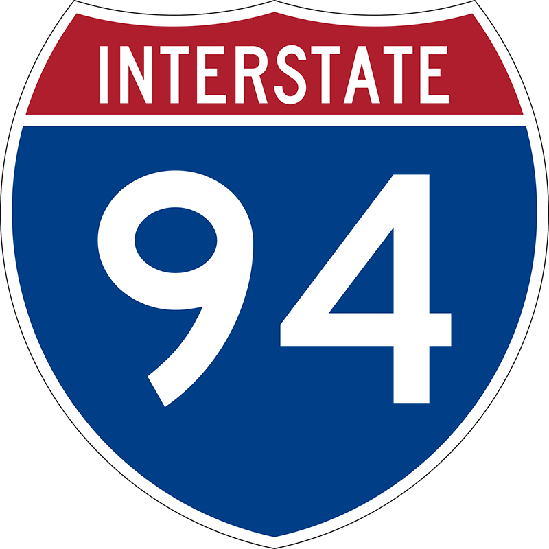 Accident on I-94 Michigan near Galesburg, Michigan