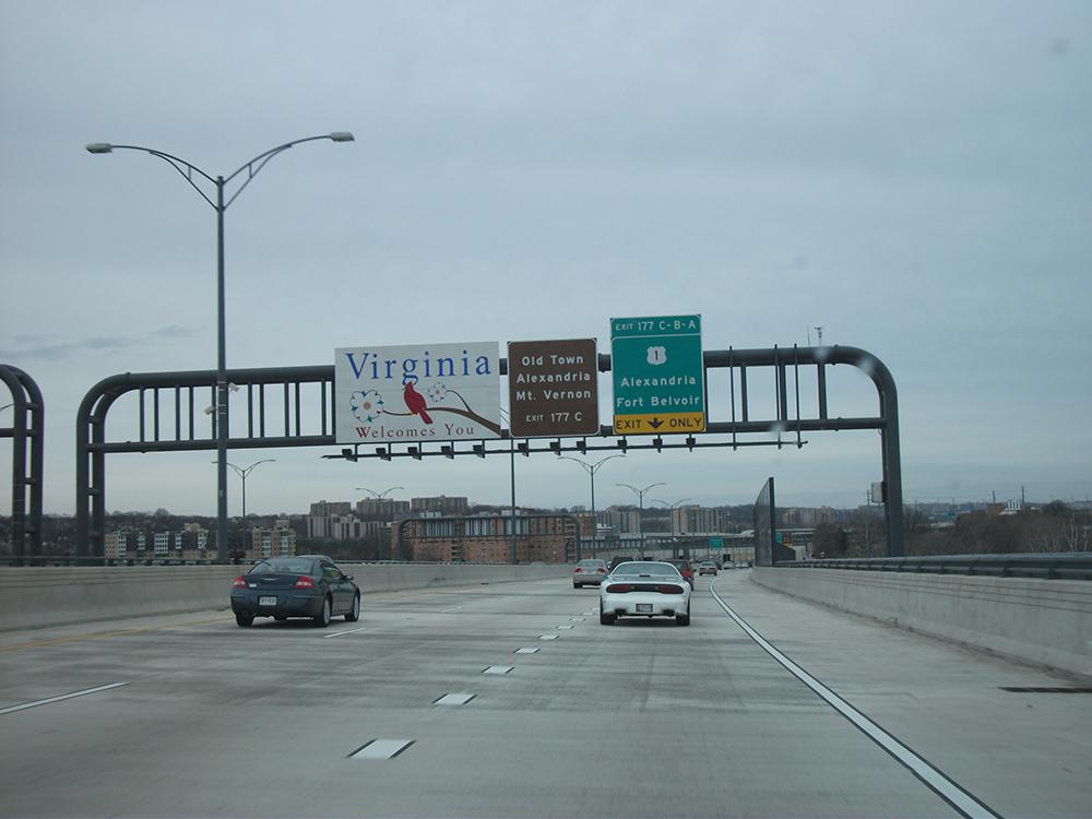 I-95 virginia traffic accidents