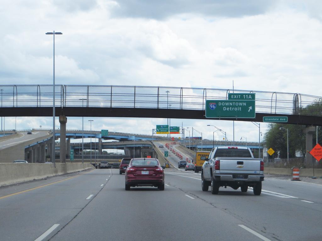 I-96 in Michigan traffic accident