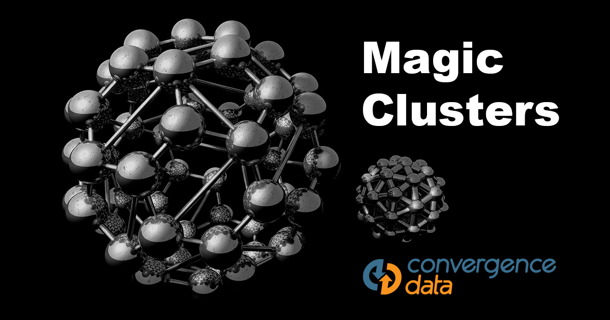 magic clusters parts classification