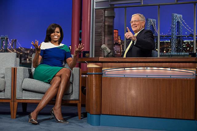 Dave_Letterman_late-night_career_Michelle_Obama