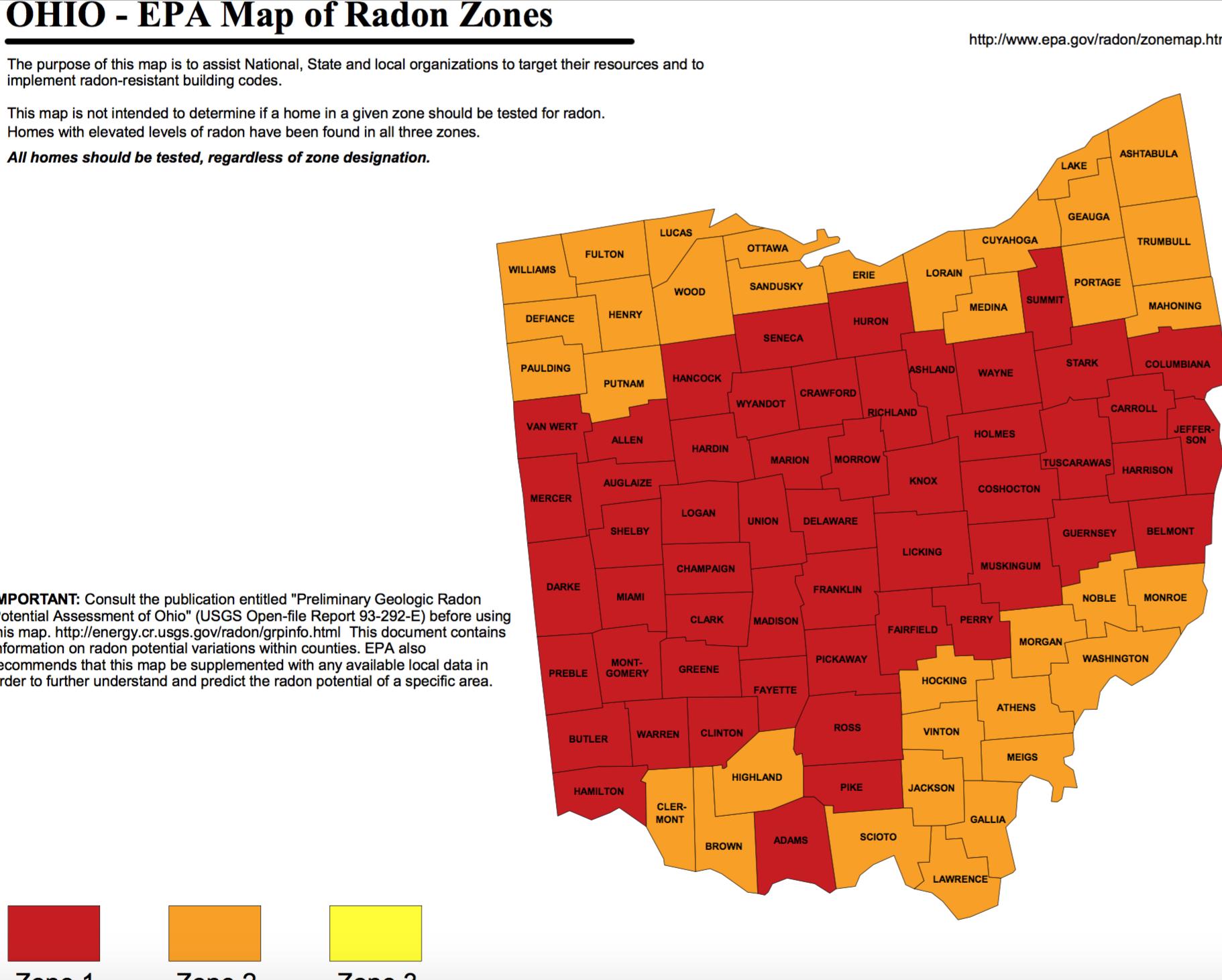Why Does Ohio Have Such A Big Radon Problem