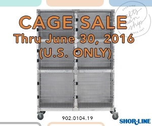 Cage Sale Continues thru June 30, 2016