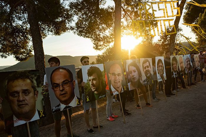 Nine Catalan leaders have been sentenced to prison