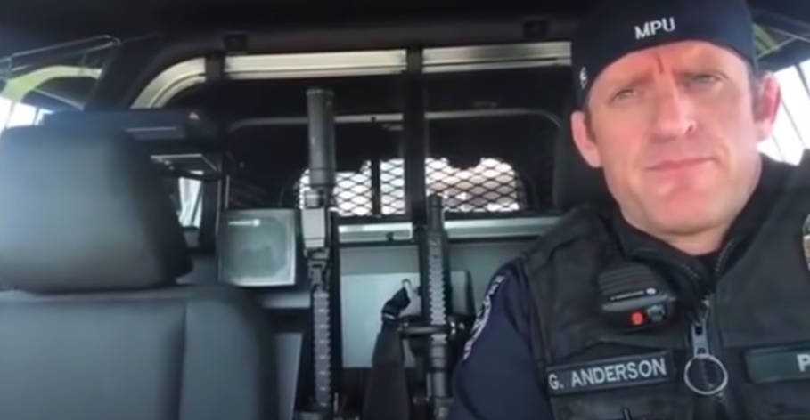 """The Unsettling Subtext in the """"Officer Anderson"""" Video Going Viral"""