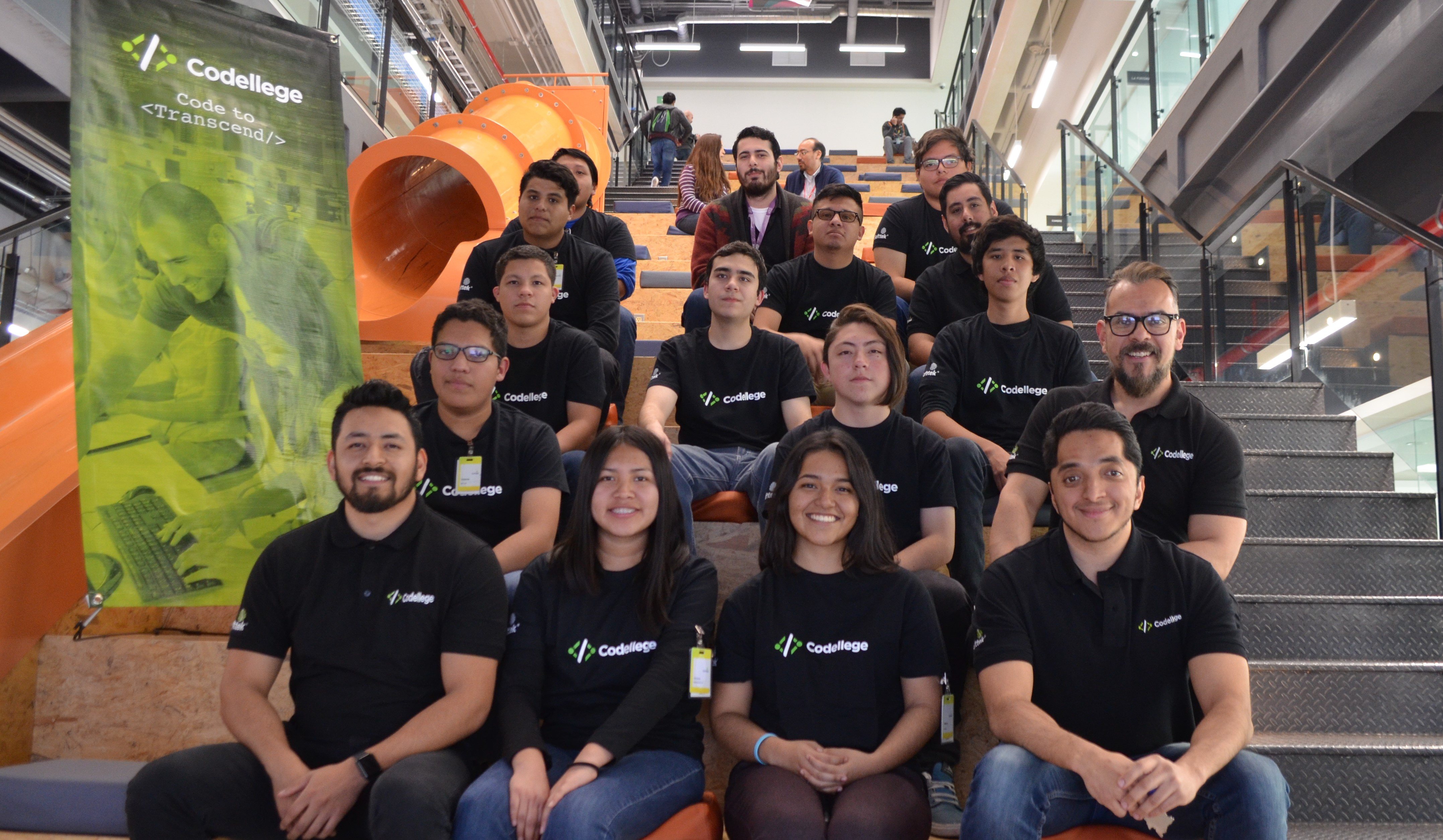 36 years later and the entrepreneurial spirit carries on: Codellege