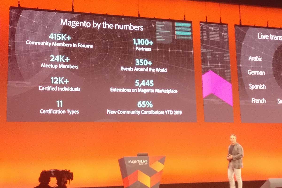 Magento Live 2019: trgovinskim blagajnam so šteti dnevi