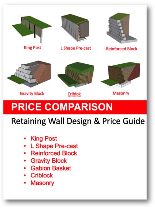 Retaining Wall Price Comparison Retaining Wall Prices Retaining Walls