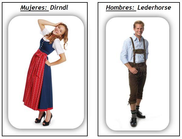 1b4745a6b Vestimenta tradicional de alemana - Universal de Idiomas
