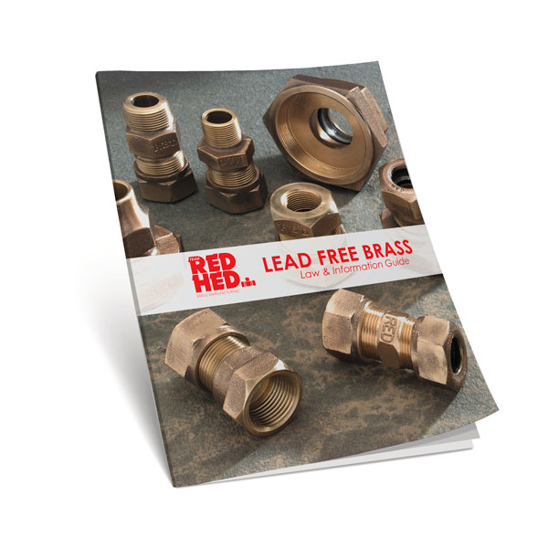 Lead Flange Brass Book Cover