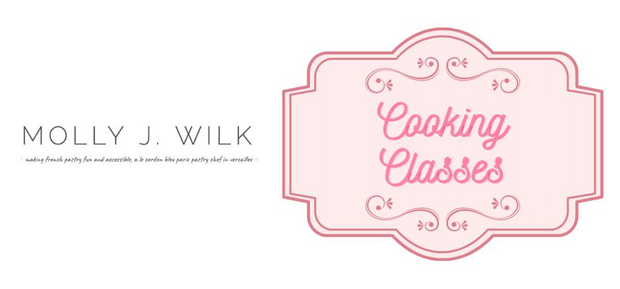 Exclusive discounts with our partner Molly J Wilk for cooking classes, gift idea!