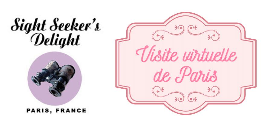 Réductions exclusives chez Sight Seeker's Delight visite virtuelle de Paris, idées cadeaux !